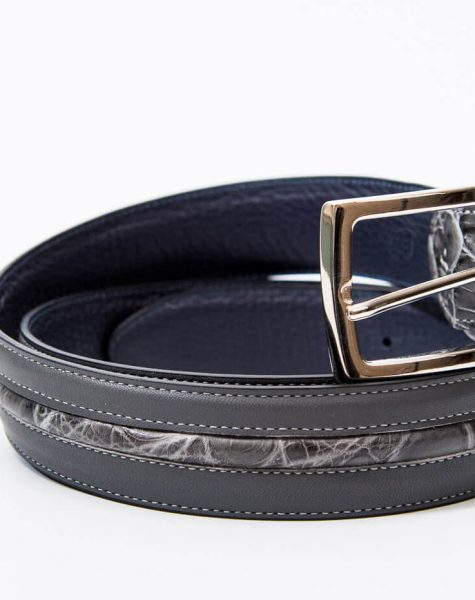 Gray Double-Sided Belt