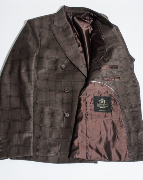 Ramsey Plaid Brown