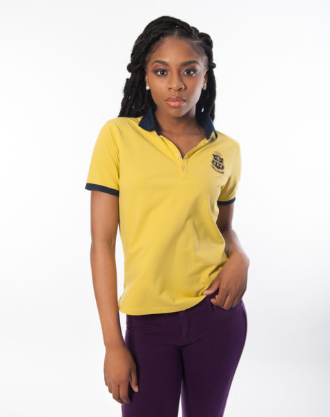 PZ Polo Yellow-Blue Collar