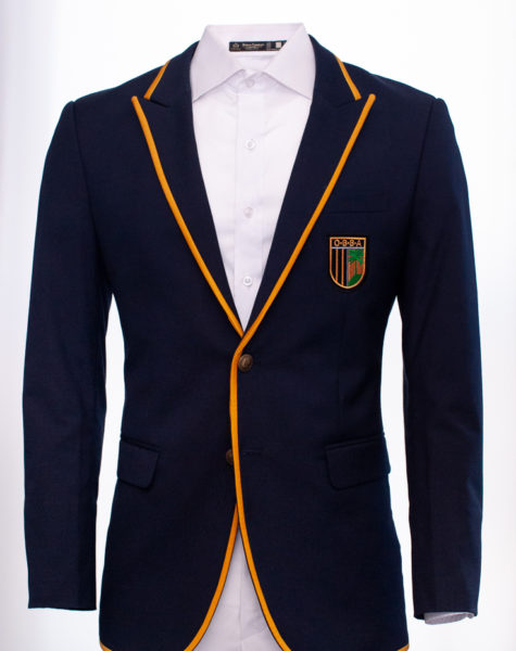 Fitted School Blazer|OBBA